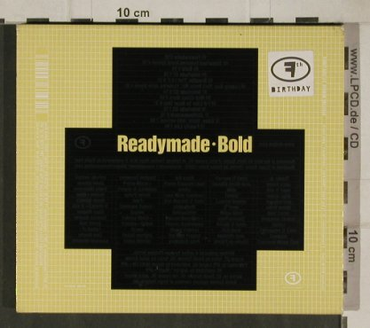 Readymade: Bold, F Communications(), D, 2001 - CD - 81079 - 10,00 Euro