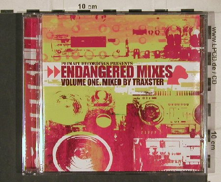 V.A.Endangered Mixes Vol.1: 22 Tr. Mixed By Traxter, Primate(PS 001-2), , 2002 - CD - 81112 - 5,00 Euro
