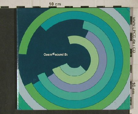 V.A.Cosm sound 3: 13 Tr. ,Digi, co, Cosmos(COScd008), , 1999 - CD - 81113 - 7,50 Euro