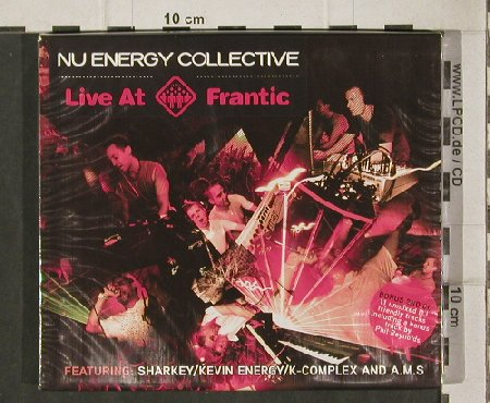 V.A.Nu Energy Collective: Live at Frantic, FS-New, Resist Music(44), UK, 05 - 2CD - 81213 - 10,00 Euro