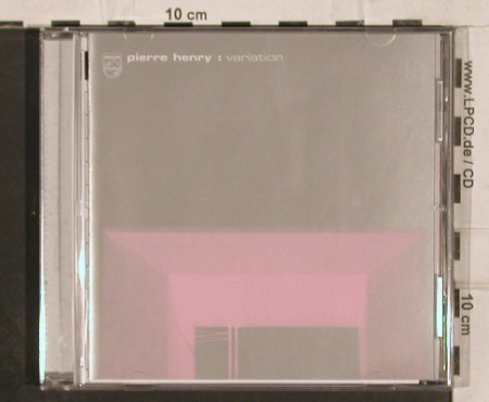 V.A.Pierre Henry: Variation, 10 Tr., Philips(), , 2000 - CD - 82321 - 7,50 Euro