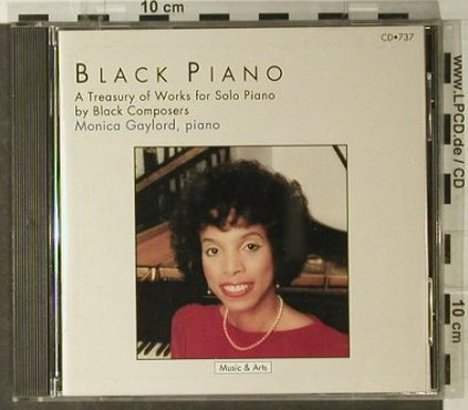 Gaylord,Monica: Black Piano, Music & Arts Programs(CD-737), US, 1992 - CD - 82386 - 20,00 Euro