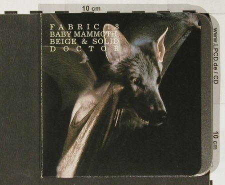 V.A.Fabric 18: Baby Mammoth/Beige&Solid, Fabric(35), EU, 2004 - CD - 82514 - 7,50 Euro
