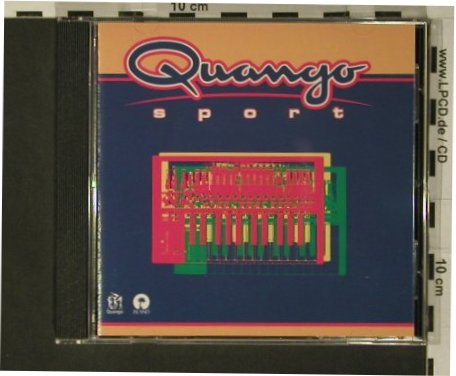 V.A.Quango Sports: Cool Breeze...NobukazuTakemura, Island(), 10 Tr., 1996 - CD - 82517 - 5,00 Euro