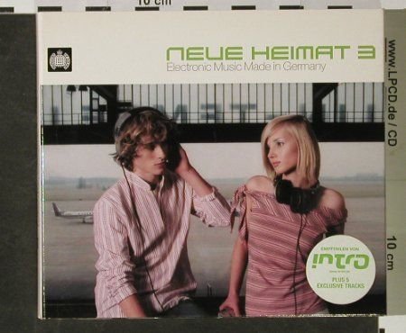 V.A.Neue Heimat 3: Electronic Music Made in Germany, Ministry of Sound(), D,Digi, 2003 - 2CD - 82520 - 10,00 Euro
