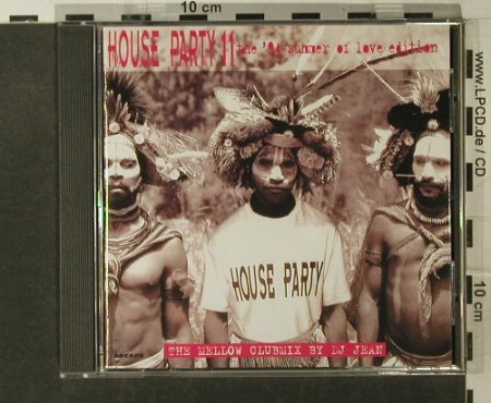 V.A.House Party 11: The Clubmix,35 Tr., Arcade(), , 1994 - CD - 82523 - 5,00 Euro