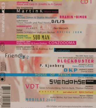 V.A.No Fites: Techno House Comp., Container(), , 1995 - 2CD - 82524 - 10,00 Euro