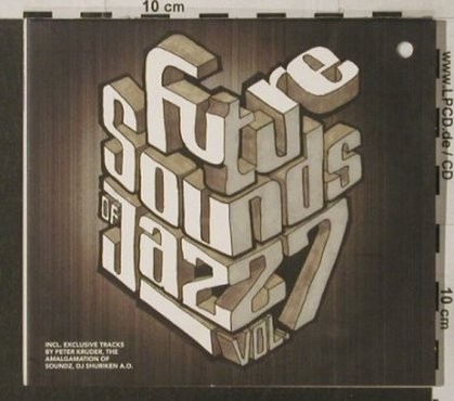 V.A.Future Sound Of Jazz Vol.7: 13Tr., Digi, co, Compost(080-2), EC, 2000 - CD - 82528 - 7,50 Euro