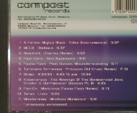 V.A.Lytic Cocktail: 11 Tr., Compost(025-2), , 1997 - CD - 82531 - 7,50 Euro