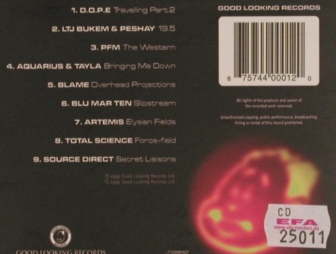 V.A.Points in Time: 001, Digi, Good Look.(GLRPIT001), UK, 1999 - CD - 82536 - 7,50 Euro