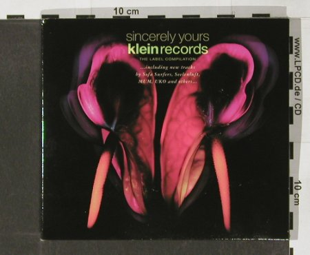 V.A.Sincerely Yours: 15 Tr...Sofa Surfer,Mum,UKO..., co, Klein(029), D, 2001 - CD - 82542 - 7,50 Euro