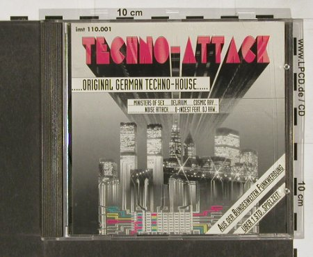 V.A.Techno-Attack...Original German: Techno-House,11Tr.., Imtrat(110.001), D, 1991 - CD - 82546 - 5,00 Euro