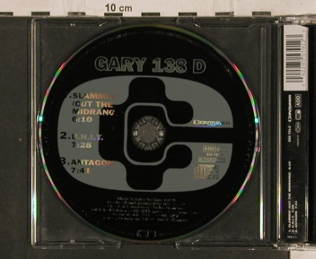 GARY 138 D: Slammin'/Unit/Anatagon, Container(855 791), , 1994 - CD5inch - 82548 - 4,00 Euro