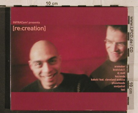 V.A.Re:Creation: Aromabar....Hacienda, 11 Tr., Infracom(), D, 2003 - CD - 82549 - 5,00 Euro