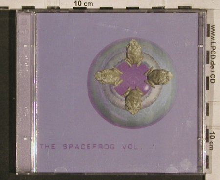V.A.Spacefrog  Vol.1,: Humate,Cracked,Marmion..16Tr., Superstition(), NL,  - 2CD - 82555 - 12,50 Euro