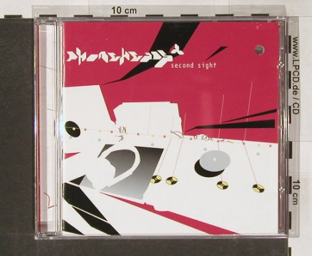Phoneheads: Second Sight, co, INFRACom!(cd-ic 0672), D, 2000 - CD - 82594 - 5,00 Euro