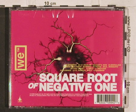 We: Square Root of Negative One, Asphodel(), , 1999 - CD - 82604 - 7,50 Euro