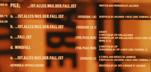 Pile: ...Ist Alles Was der Fall ist, 5Tr., Epic(), A, 1996 - CD - 82616 - 5,00 Euro