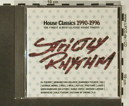 V.A.Strictly Rhythm: House Classics 1990-96,19 Tr., Motor(), D, 1996 - CD - 82659 - 5,00 Euro