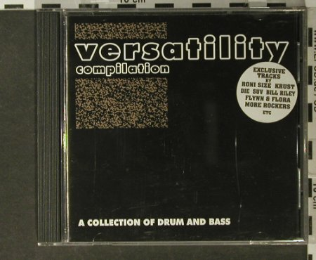 V.A.Versatility Comp.: Roni Size..Quasimodo Sunday,12 Tr., Independent Dealer(InCD 010), UK, 1997 - CD - 82664 - 6,00 Euro