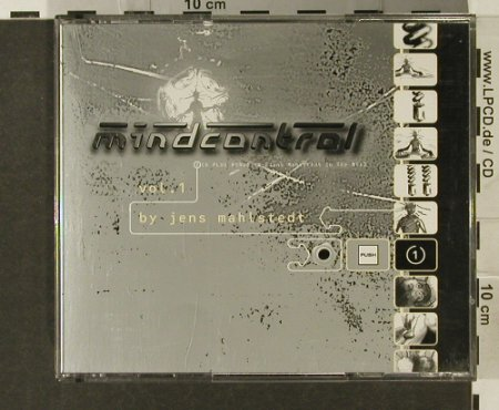 V.A.Mindcontrol Vol.1: by Jens Mahlstedt,20 Tr., PUSH(005), , 1991 - 3CD - 82666 - 11,50 Euro
