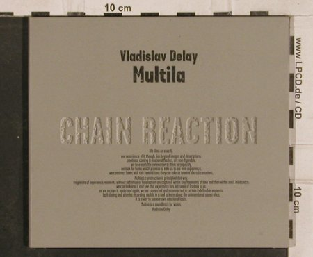 Vladislav Delay: Multina, Digi, BCP(CRD-09), , 2000 - CD - 83053 - 15,00 Euro