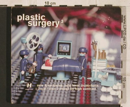 V.A.Plastic Surgery 3: New&exclusive,next levelDrum&Bass, NHS 43 CD(), UK,  - 2CD - 83244 - 10,00 Euro