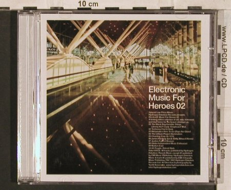 V.A.Electronic Music for Heroes 02: 10 Tr., Hydrogen Dukebox(), , 2002 - CD - 83451 - 7,50 Euro