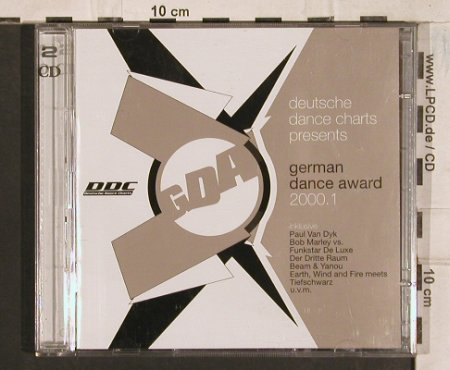 V.A.German Dance Award 2000.1: 32 Tr., Goa, Edel(), D, 2000 - 2CD - 83456 - 10,00 Euro