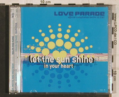V.A.Love Parade´97: Let The Sun Shine In Your Heart, Low Spirit(), EU, 1997 - 2CD - 83470 - 10,00 Euro