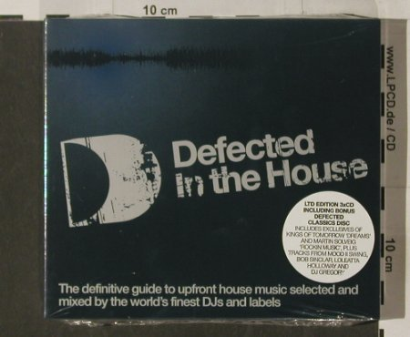 V.A.In the House: Defected, LTD Ed. , Digi, FS-New, Defected(ITH04), UK, 03 - 3CD - 90269 - 14,00 Euro