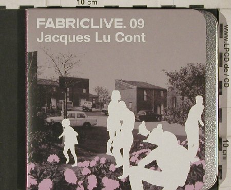 V.A.FabricLive 09: Jacques Lu Cont, metal-Box, Fabric(18), EU, 2002 - CD - 90543 - 10,00 Euro