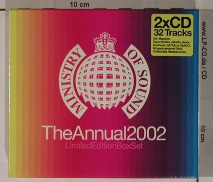 V.A.Ministry Of Sound: The Annual  2002, Box, MinistryOS(), , 02 - 2CD - 90640 - 12,50 Euro