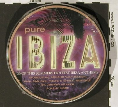 V.A.Pure Ibiza: 20 Tr. Tin Box, FS-New, Beechwood(), , 99 - 2CD - 90942 - 10,00 Euro