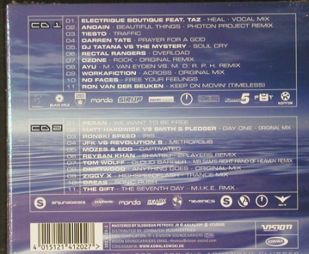 V.A.Trancemaster: 4000, Digi, Lim. 40th...,FS-New, Vision(), D, 2003 - 2CD - 90984 - 12,50 Euro