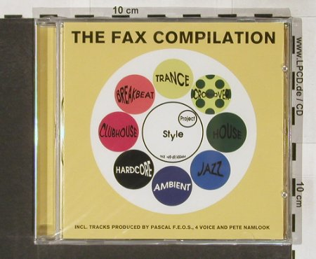 V.A.The Fax Compilation: Pascal F.E.O.S.,4Voice,Pete Namlook, h&g(041-2), , FS-New, 01 - CD - 91208 - 10,00 Euro