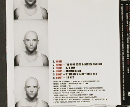 Moby: Honey*6,Promo, Mute(218), EEC, 1998 - CD5inch - 91408 - 6,00 Euro