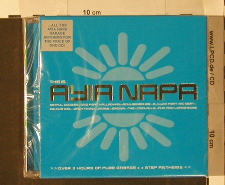 V.A.This Is... Agia Napa: Box Set, FS-New, Beechwood(BEBOXcd38), UK, 2000 - 3CD - 91616 - 12,50 Euro