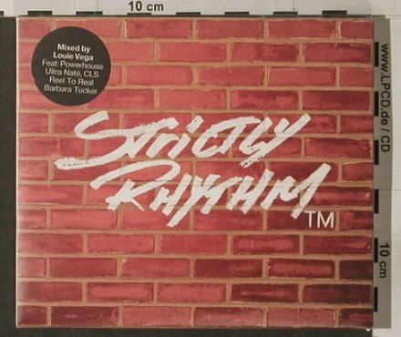 V.A.Ten Years Of Strictly Rhytm: Mixed by Louie Vega, MinistryOS(MOSSR1cd), UK, 1999 - 2CD - 91865 - 12,50 Euro
