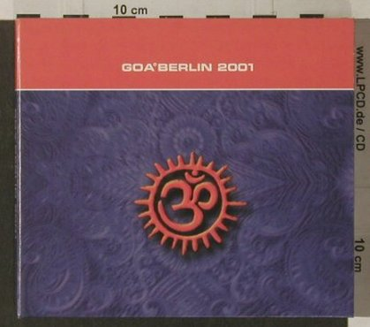 V.A.Goa°Berlin 2001: 24 Tr., Digi, tmetric(), D, 2001 - 2CD - 91967 - 10,00 Euro