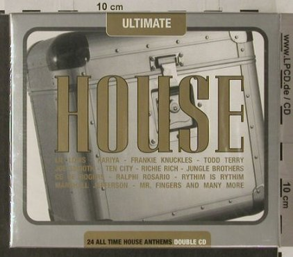 V.A.Ultimate House: 24 All Time Anthems, FS-New, Beechwood(), UK, 1999 - 2CD - 91974 - 10,00 Euro