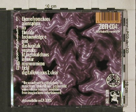 Hex: The Soundtrack to Global Chaos, Ninja Tune(zen cd4), ,  - CD - 92066 - 11,50 Euro