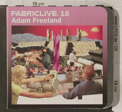 V.A.FabricLive 16: Adam Freeland, FS-New, Fabric(32), EU, 2004 - CD - 92190 - 10,00 Euro