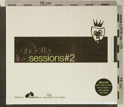 V.A.Vendetta: Live Session#2, FS-New, Blanco y N(), , 2002 - 2CD - 92442 - 12,50 Euro