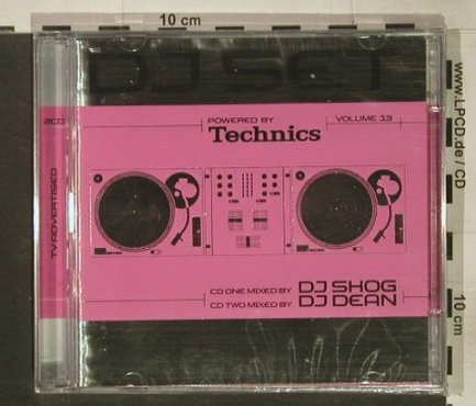 V.A.Technics DJ-Set Vol. 13: by DJ Shog/DJ Dean,37Tr., FS-New, Klubbstyle(), , 2005 - 2CD - 92451 - 10,00 Euro