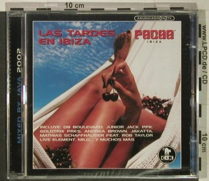 V.A.Las Tardes en Ibiza (Pacha): Mixed by Java, FS-New, Vendetta(VENcd 394), E, 2002 - 2CD - 92452 - 11,50 Euro