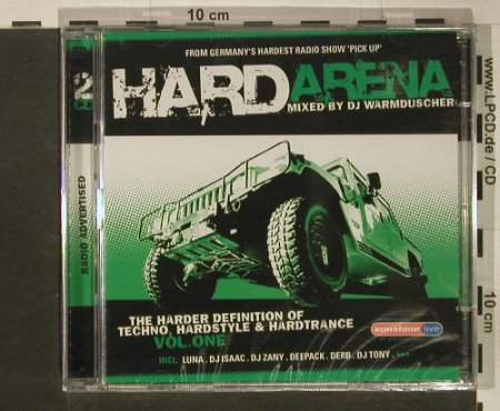V.A.Hard Arena Vol. 1: Mixed by DJ Warmduscher, FS-New, Klubbstyle(535.3001.2), , 2005 - 2CD - 92455 - 7,50 Euro