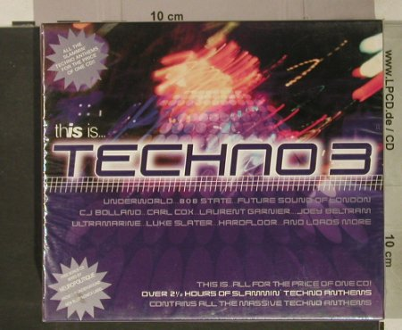 V.A.This Is.. Techno 3: Box Set, FS-New, Beechwood(), UK, 1998 - 3CD - 92459 - 10,00 Euro