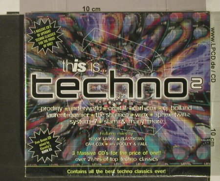 V.A.This Is... Techno 2: Box Set, FS-New, Beechwood(), UK, 1997 - 3CD - 92460 - 10,00 Euro