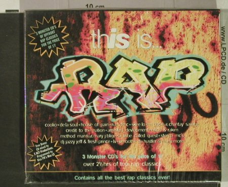 V.A.This Is... Rap: Box Set, FS-New, Beechwood(), UK, 1996 - 3CD - 92463 - 12,50 Euro